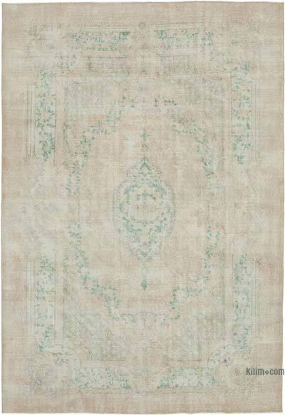 Vintage El Dokuma Anadolu Halısı - 214 cm x 316 cm