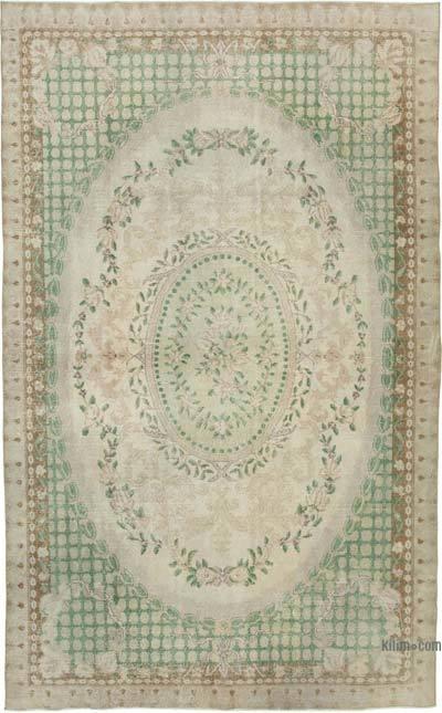 Vintage El Dokuma Anadolu Halısı - 205 cm x 333 cm