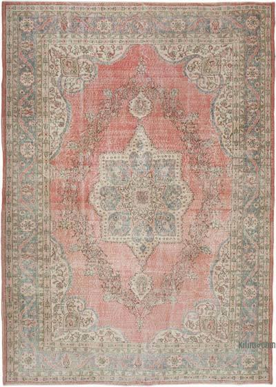 Vintage El Dokuma Anadolu Halısı - 239 cm x 331 cm
