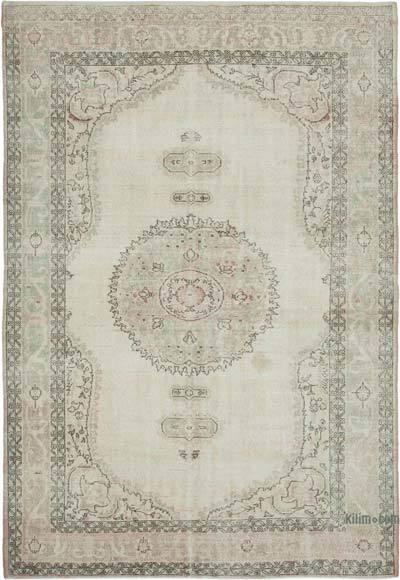 Vintage El Dokuma Anadolu Halısı - 220 cm x 330 cm