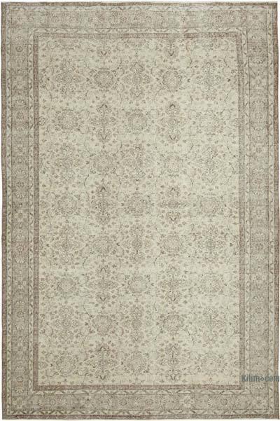 """Vintage Turkish Hand-Knotted Rug - 6' 10"""" x 10' 2"""" (82 in. x 122 in.)"""