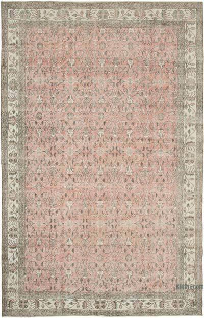 Vintage El Dokuma Anadolu Halısı - 208 cm x 330 cm