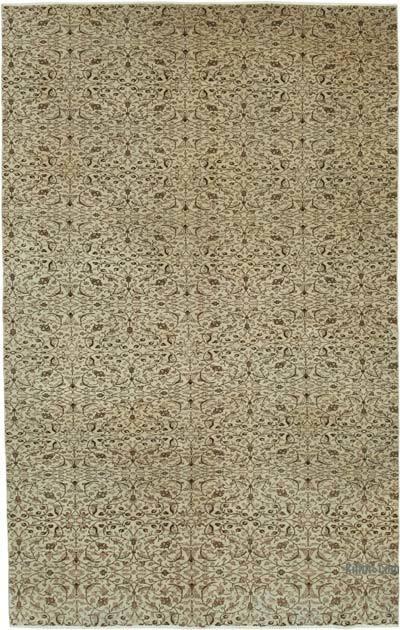 Vintage El Dokuma Anadolu Halısı - 184 cm x 287 cm