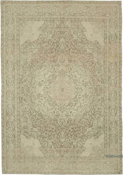 Vintage El Dokuma Anadolu Halısı - 240 cm x 346 cm