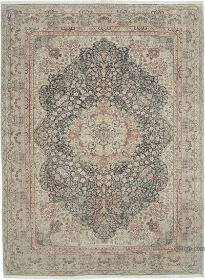 Vintage El Dokuma Anadolu Halısı - 252 cm x 336 cm