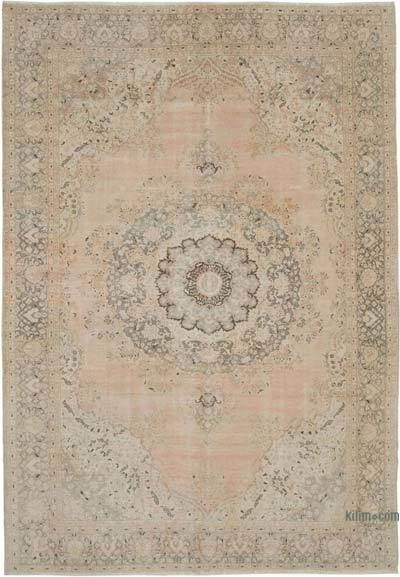 Vintage El Dokuma Anadolu Halısı - 230 cm x 330 cm