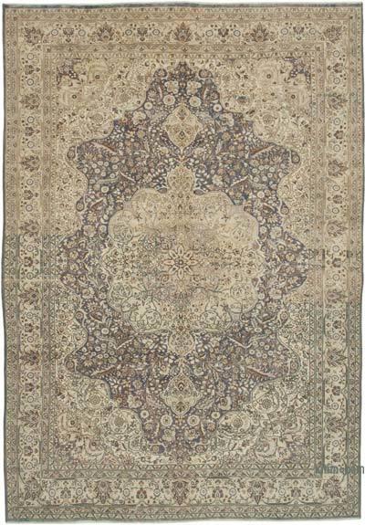 Vintage El Dokuma Anadolu Halısı - 216 cm x 304 cm