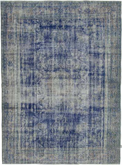 "Over-dyed Vintage Hand-knotted Turkish Rug - 6' 11"" x 9' 10"" (83 in. x 118 in.)"
