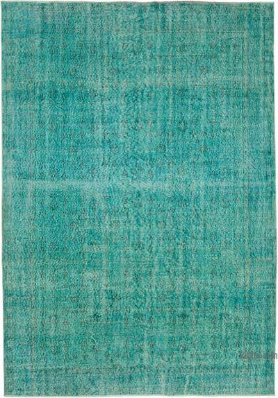 "Over-dyed Vintage Hand-knotted Turkish Rug - 6' 10"" x 9' 11"" (82 in. x 119 in.)"