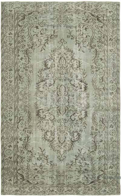 """Over-dyed Vintage Hand-knotted Turkish Rug - 5' 8"""" x 9' 3"""" (68 in. x 111 in.)"""