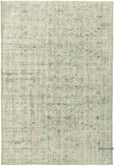 "Over-dyed Vintage Hand-knotted Turkish Rug - 5' 11"" x 8' 8"" (71 in. x 104 in.)"