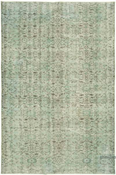 "Over-dyed Vintage Hand-knotted Turkish Rug - 5' 10"" x 8' 9"" (70 in. x 105 in.)"