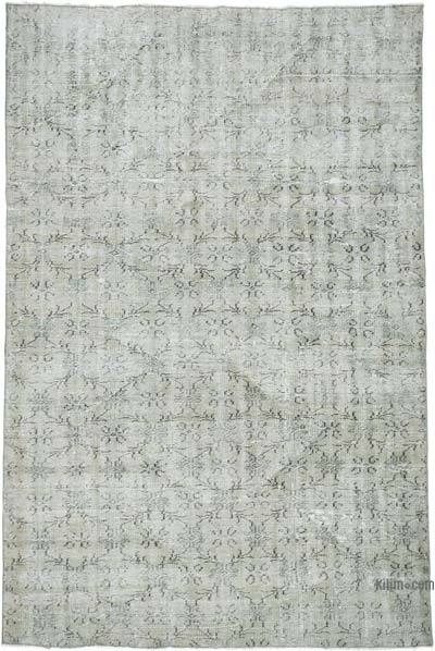 "Over-dyed Vintage Hand-knotted Turkish Rug - 5' 7"" x 8' 6"" (67 in. x 102 in.)"