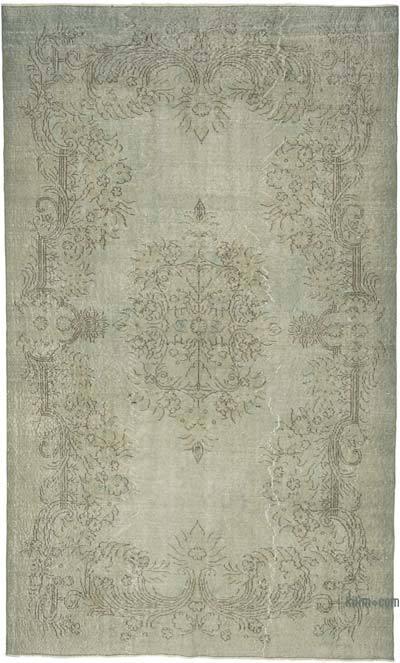 Boyalı El Dokuma Anadolu Halısı - 178 cm x 295 cm