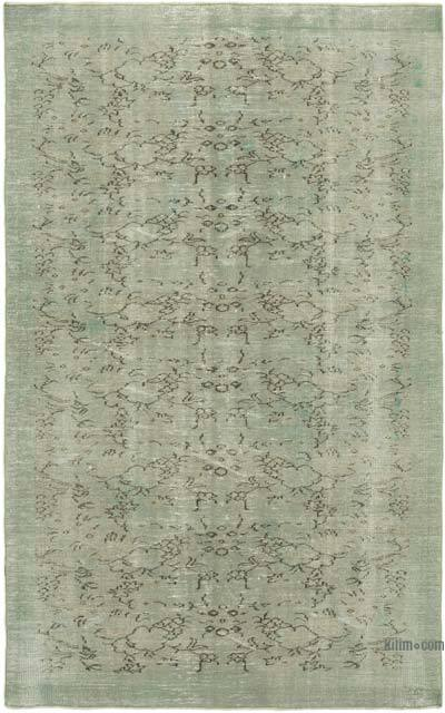 "Over-dyed Vintage Hand-knotted Turkish Rug - 5' 9"" x 9' 1"" (69 in. x 109 in.)"