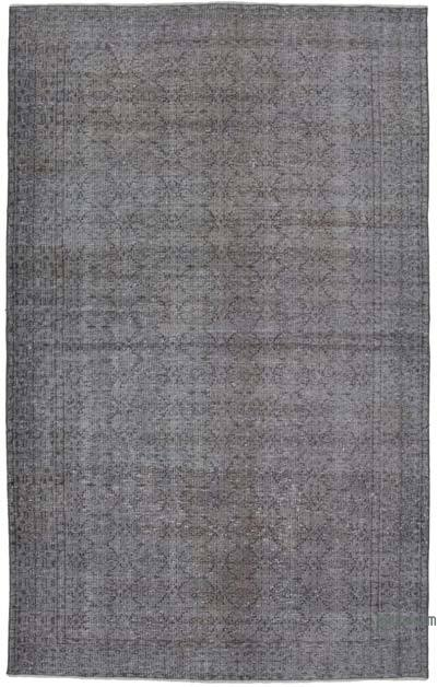 "Over-dyed Vintage Hand-knotted Turkish Rug - 5' 4"" x 8' 7"" (64 in. x 103 in.)"