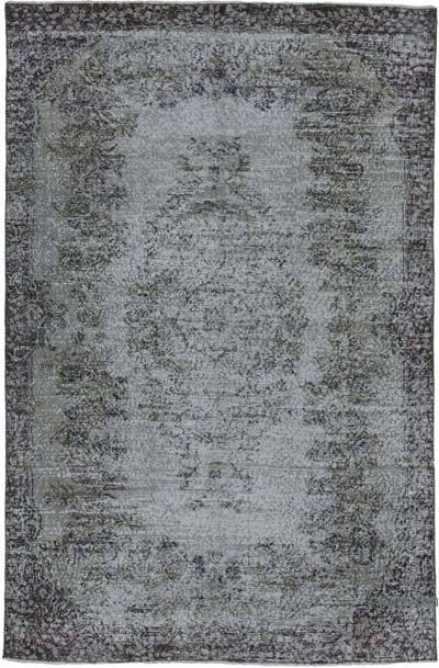 "Over-dyed Vintage Hand-knotted Turkish Rug - 5' 5"" x 8' 4"" (65 in. x 100 in.)"