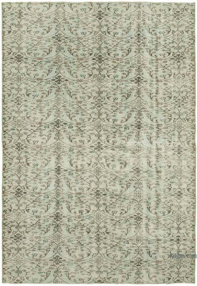 "Over-dyed Vintage Hand-knotted Turkish Rug - 5' 8"" x 8'  (68 in. x 96 in.)"