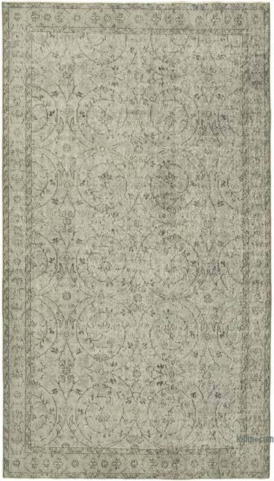 "Over-dyed Vintage Hand-knotted Turkish Rug - 4' 11"" x 8' 9"" (59 in. x 105 in.)"