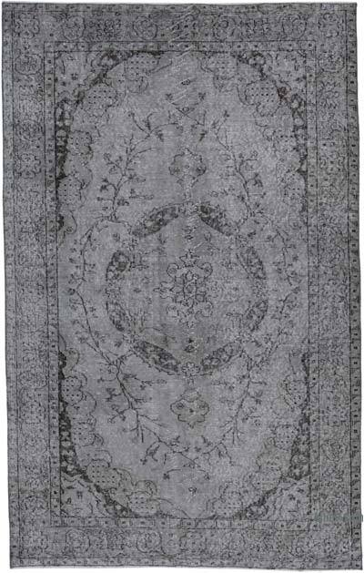 "Over-dyed Vintage Hand-knotted Turkish Rug - 5' 1"" x 8' 1"" (61 in. x 97 in.)"