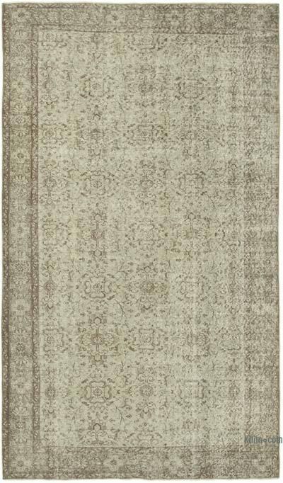 Boyalı El Dokuma Anadolu Halısı - 163 cm x 279 cm