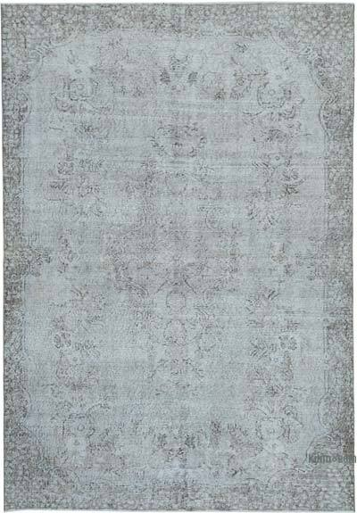"Over-dyed Vintage Hand-knotted Turkish Rug - 6' 2"" x 9'  (74 in. x 108 in.)"