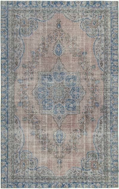 """Vintage Turkish Hand-knotted Area Rug - 5' 11"""" x 9' 6"""" (71 in. x 114 in.)"""