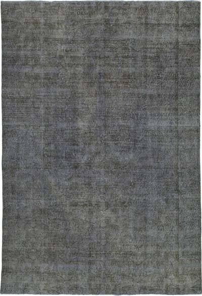 "Over-dyed Vintage Hand-knotted Turkish Rug - 6' 7"" x 9' 8"" (79 in. x 116 in.)"