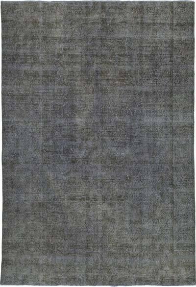 Alfombra Turca Vintage Sobre-teñida - 200 cm x 295 cm