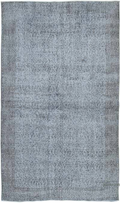 """Over-dyed Vintage Hand-knotted Turkish Rug - 5' 5"""" x 9' 1"""" (65 in. x 109 in.)"""