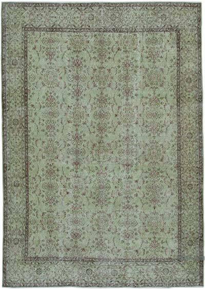 "Over-dyed Vintage Hand-knotted Turkish Rug - 6' 9"" x 9' 6"" (81 in. x 114 in.)"