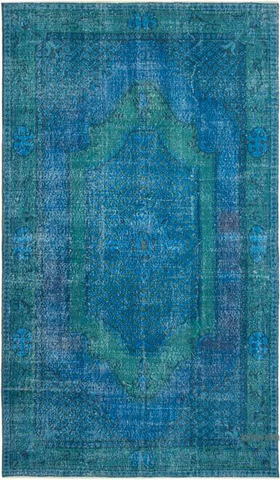 Boyalı El Dokuma Anadolu Halısı - 176 cm x 296 cm