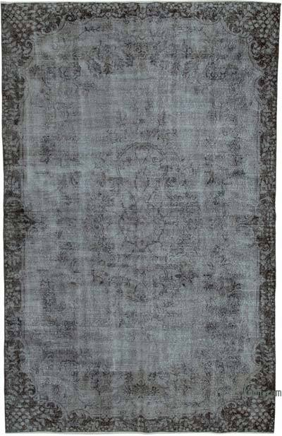 "Over-dyed Vintage Hand-knotted Turkish Rug - 6' 5"" x 9' 10"" (77 in. x 118 in.)"