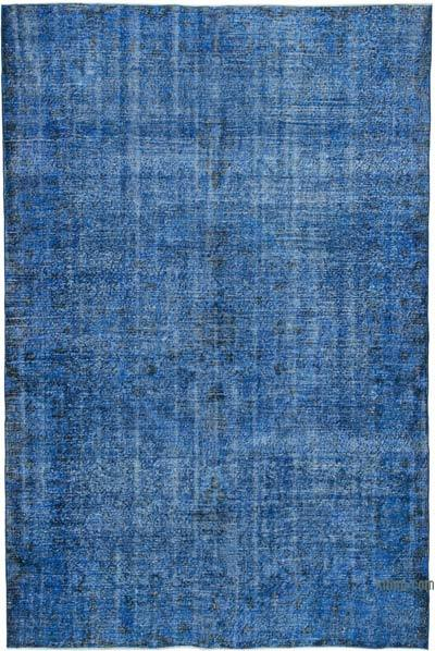 """Over-dyed Vintage Hand-knotted Turkish Rug - 5' 10"""" x 8' 11"""" (70 in. x 107 in.)"""