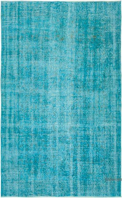"Over-dyed Vintage Hand-knotted Turkish Rug - 5' 3"" x 8' 5"" (63 in. x 101 in.)"