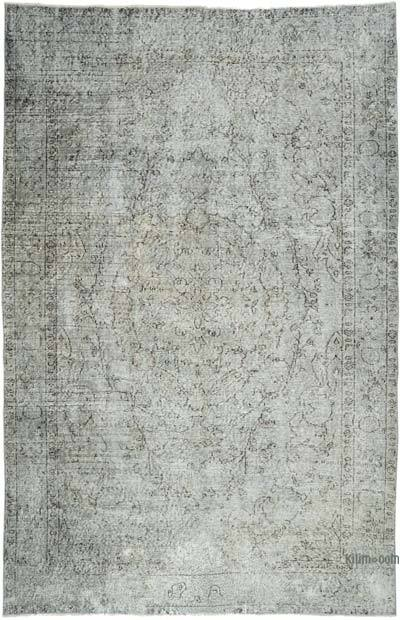 "Over-dyed Vintage Hand-knotted Turkish Rug - 5' 8"" x 8' 7"" (68 in. x 103 in.)"