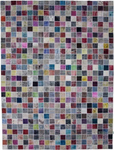 Patchwork Ek Dokuma Halı - 300 cm x 400 cm