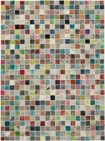 Patchwork Ek Dokuma Halı - 300 cm x 408 cm
