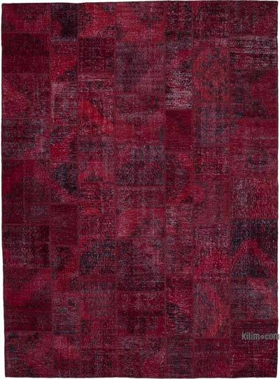"Hand-knotted Turkish Patchwork Rug - 9' 10"" x 13' 4"" (118 in. x 160 in.)"