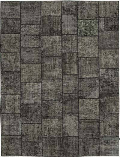 "Hand-knotted Turkish Patchwork Rug - 9' 11"" x 13' 2"" (119 in. x 158 in.)"