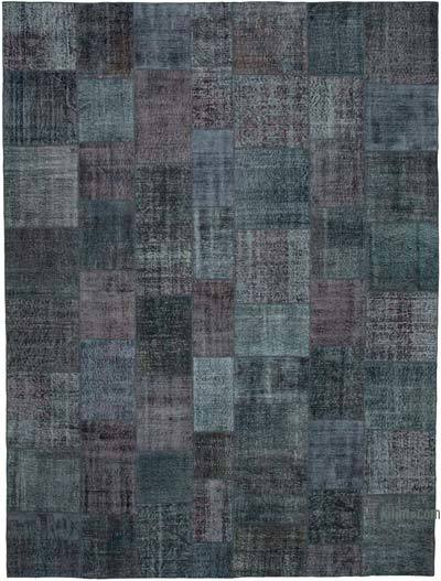 "Hand-knotted Turkish Patchwork Rug - 9' 10"" x 13' 1"" (118 in. x 157 in.)"