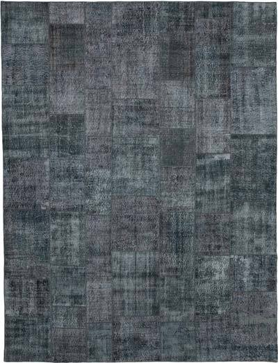 "Hand-knotted Turkish Patchwork Rug - 9' 9"" x 13' 1"" (117 in. x 157 in.)"