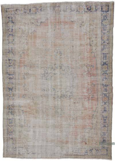 """Turkish Vintage Area Rug - 7' 10"""" x 11' 2"""" (94 in. x 134 in.)"""