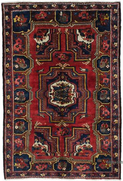 """Vintage Turkish Hand-Knotted Rug - 5' 6"""" x 8' 2"""" (66 in. x 98 in.)"""