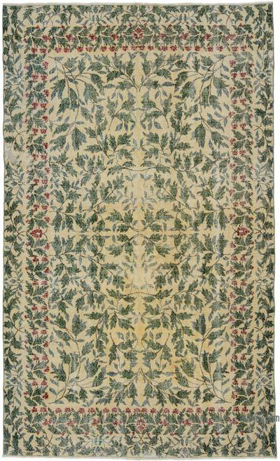 "Turkish Vintage Area Rug - 6' 9"" x 10' 10"" (81 in. x 130 in.)"