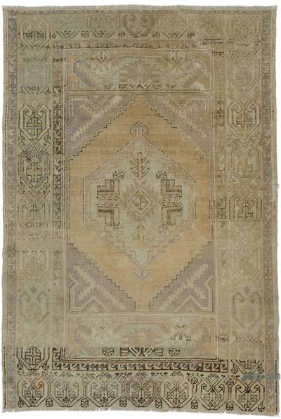 "Turkish Vintage Area Rug - 3' 11"" x 5' 7"" (47 in. x 67 in.)"