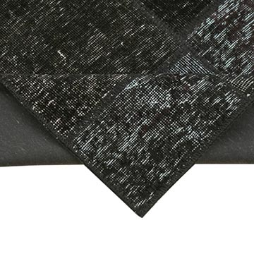 """Black Patchwork Hand-Knotted Turkish Runner - 2' 9"""" x 9' 10"""" (33 in. x 118 in.) - K0049632"""