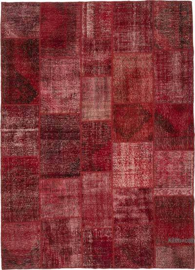 Hand-knotted Turkish Patchwork Rug - 9'  x 12'  (108 in. x 144 in.)