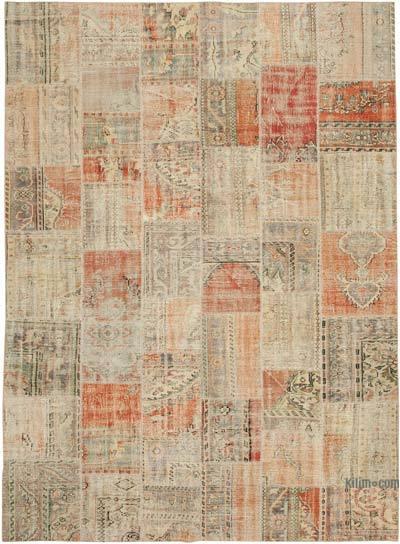 Patchwork Ek Dokuma Halı - 256 cm x 355 cm