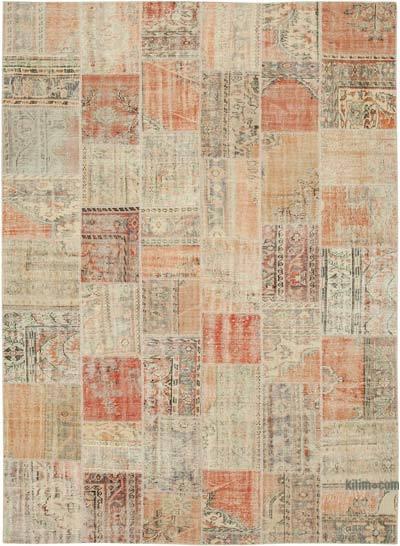 Patchwork Ek Dokuma Halı - 257 cm x 355 cm